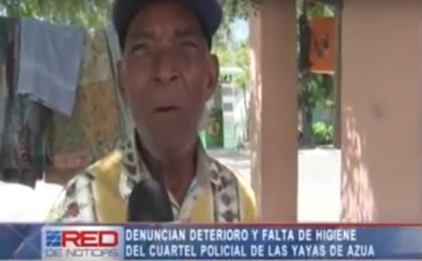 Sr. Luis Ramíre,z denuncia condiciones de cuartel de Las Yayas de Azua